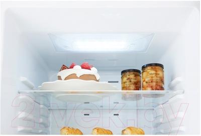 Холодильник с морозильником LG GA-B489YEQZ