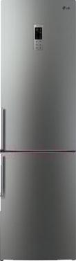 Холодильник с морозильником LG GA-B489YMKZ - общий вид