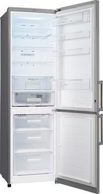 Холодильник с морозильником LG GA-B489YMKZ - в открытом виде