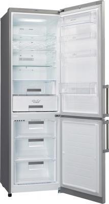 Холодильник с морозильником LG GA-B489YMQA - в открытом виде