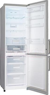 Холодильник с морозильником LG GA-B489ZVVM - в открытом виде
