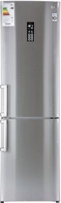 Холодильник с морозильником LG GA-B489ZVVM - общий вид
