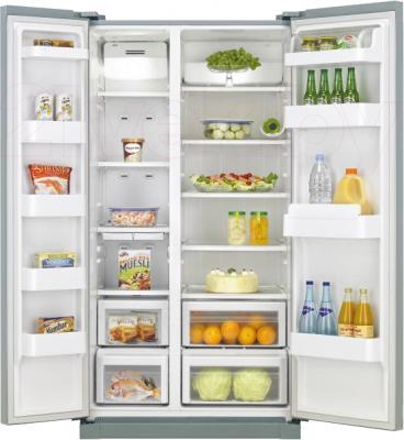 Холодильник с морозильником LG GC-B207GAQV - в открытом виде