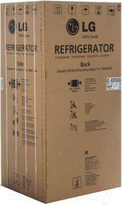 Холодильник с морозильником LG GC-B207GEQV