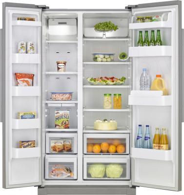 Холодильник с морозильником Samsung RSA1SHVB1/RS - в открытом виде