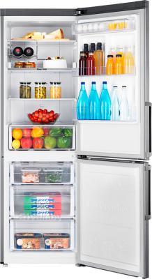 Холодильник с морозильником Samsung RB30FEJNDSA/RS - пример наполнения