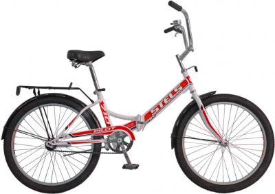 Велосипед Stels Pilot 710 (White-Red) - общий вид