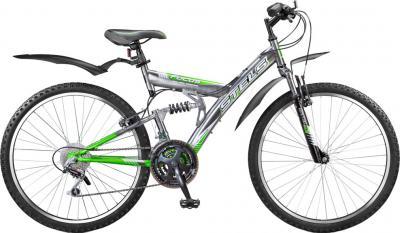 Велосипед Stels Focus 18 СК (зеленый) - общий вид