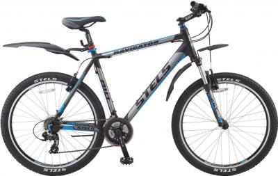 Велосипед Stels Navigator 810 (19.3, Black Mat) - общий вид