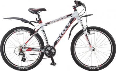 Велосипед Stels Navigator 830 (19.3, White Mat) - общий вид