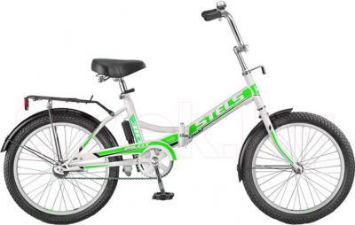 Велосипед Stels Pilot 310 (White-Green) - общий вид