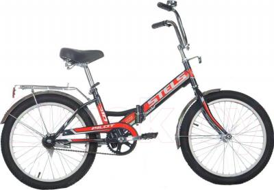 Велосипед Stels Pilot 310 (Black-Red) - общий вид