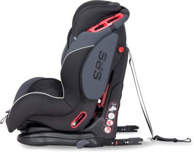 Автокресло EasyGo Maxima Isofix (Graphite) - крепление кресла