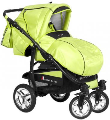 Детская универсальная коляска Riko Laser (Lime) - общий вид