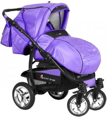 Детская универсальная коляска Riko Laser (Ultra Violet) - общий вид