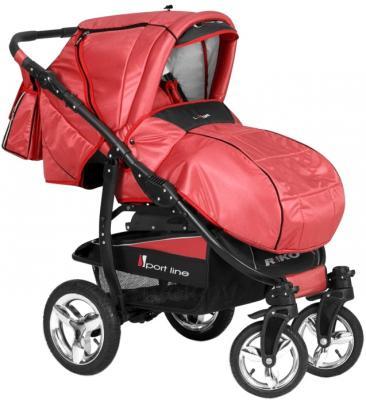 Детская универсальная коляска Riko Laser (Warm Red) - общий вид