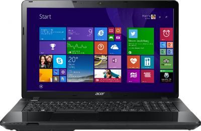 Ноутбук Acer Aspire E1-772G-34006G1TMnsk (NX.MHLEU.008) - фронтальный вид