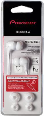 Наушники Pioneer SE-CL501T-W - вид в упаковке
