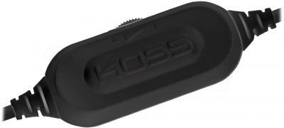 Наушники Koss KPH25 K - регулятор громкости