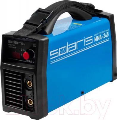 Инвертор сварочный Solaris MMA-245 + AK - общий вид