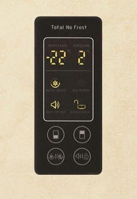 Холодильник с морозильником LG GA-B389SEQZ - дисплей