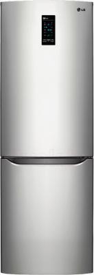 Холодильник с морозильником LG GA-B389SLQZ - общий вид