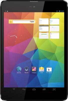 Планшет TeXet X-pad NAVI 8 8GB 3G / TM-7856 (графит) - общий вид