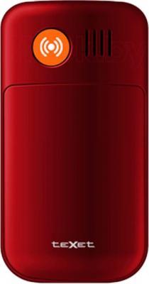 Мобильный телефон TeXet TM-B416 (Red) - вид сзади
