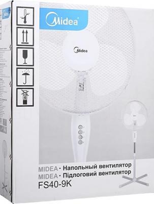 Вентилятор Midea FS40-9К - упаковка