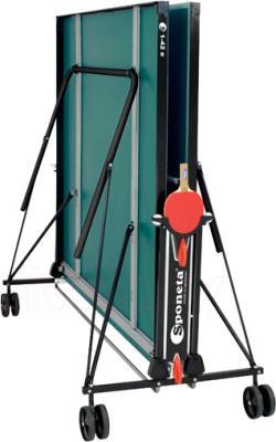 Теннисный стол Sponeta S1-42e (Green) - в сложенном виде
