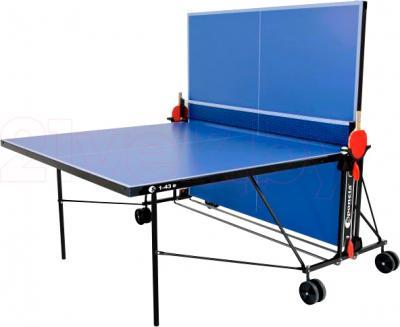 Теннисный стол Sponeta S1-43e (Blue) - позиция для тренировки