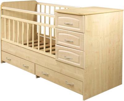 Детская кровать-трансформер Антел Ульяна-У (Клен) - общий вид
