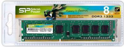 Оперативная память DDR3 Silicon Power 8GB DDR3 PC3-10600 (SP008GBLTU133N02) - общий вид