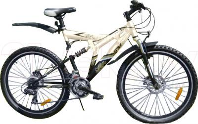 Велосипед Eurobike BooMer W5 (26, Gold) - общий вид