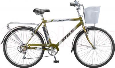 Велосипед Stels Navigator 250 (Dark Green) - общий вид