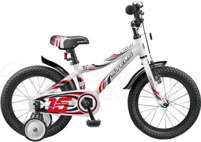 Детский велосипед Stels Pilot 180 (16, White-Red) - общий вид