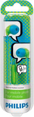 Наушники-гарнитура Philips SHE3575BG - вид в упаковке