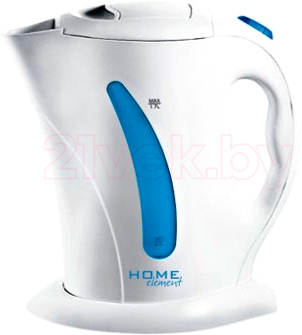 Электрочайник Home Element HE-KT100 (White-Light Blue) - общий вид