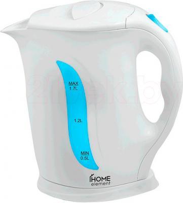 Электрочайник Home Element HE-KT103 (бело-голубой) - общий вид