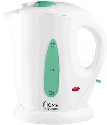 Электрочайник Home Element HE-KT109 (бело-серый) - общий вид