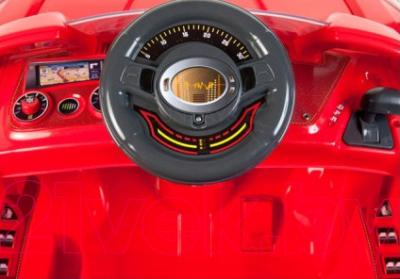 Детский автомобиль Sundays Audi B28A (Красный) - руль