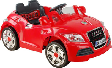 Детский автомобиль Sundays Audi B28A (Красный) - общий вид