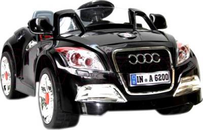 Детский автомобиль Sundays Audi B28A (Черный) - вид спереди