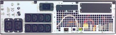 ИБП APC Smart-UPS RT 3000VA RM (SURTD3000RMXLI) - вид сзади