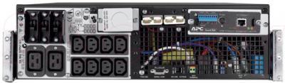ИБП APC Smart-UPS RT 6000VA RM 230V (SURT6000RMXLI) - вид сзади