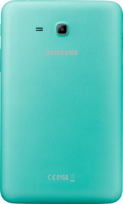 Планшет Samsung Galaxy Tab 3 Lite SM-T110 (8Gb, Blue) - вид сзади