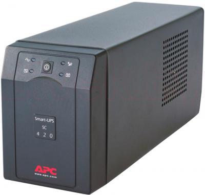 ИБП APC Smart-UPS SC 420VA (SC420I) - общий вид