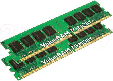 Оперативная память DDR2 Kingston KVR667D2D4P5K2/8G - общий вид