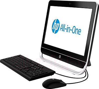 Моноблок HP Pro 3520 (D5S54EA) - вид сбоку