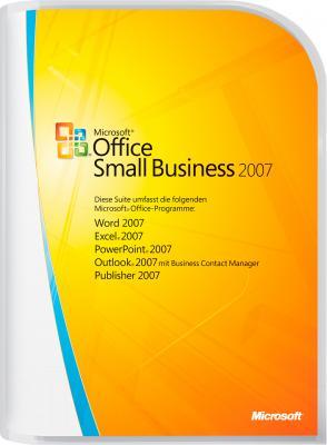 Пакет офисных программ Microsoft Office Small Business 2007 Win32 Ru 1pk (9QA-01535) - общий вид